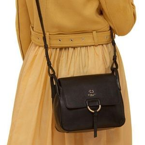 Radley Lambeth Mews Medium Flapover Black Bag